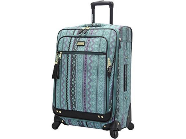 28in, Legends Turquoise Steve Madden Luggage Large 28 Expandable Softside Suitcase With Spinner Wheels