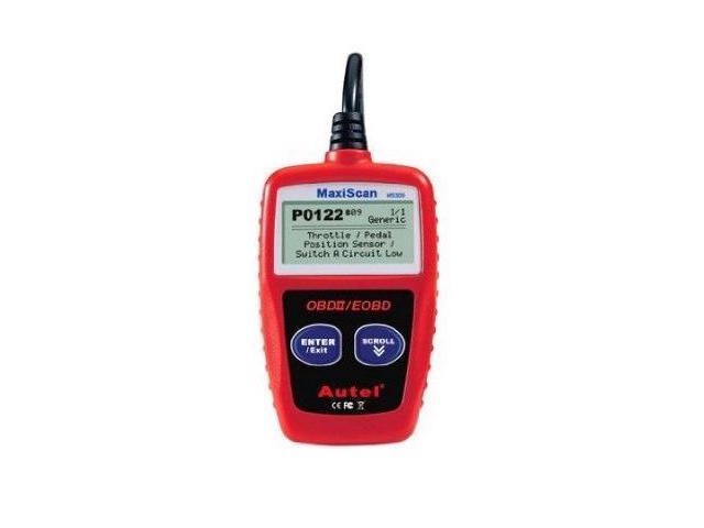 Autel MaxiScan MS309 CAN OBD II/EOBD Code Reader - Newegg com