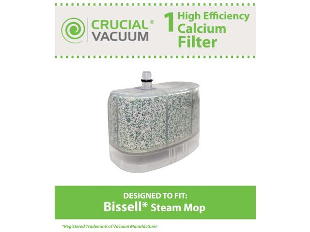 Image of 1 Bissell Vacuum Cleaner Water-Calcium Filter; Fits The Bissell Vacuum Steam Mop 218-5600; Part # 2185600 (218-5600); Designed & Engineered by Crucial Vacuum