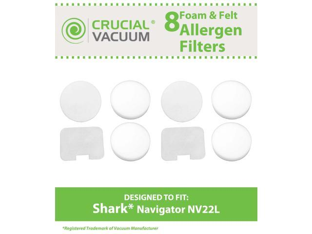 Shark NV36A Vacuum 4-Piece Foam and Felt Filter Kit