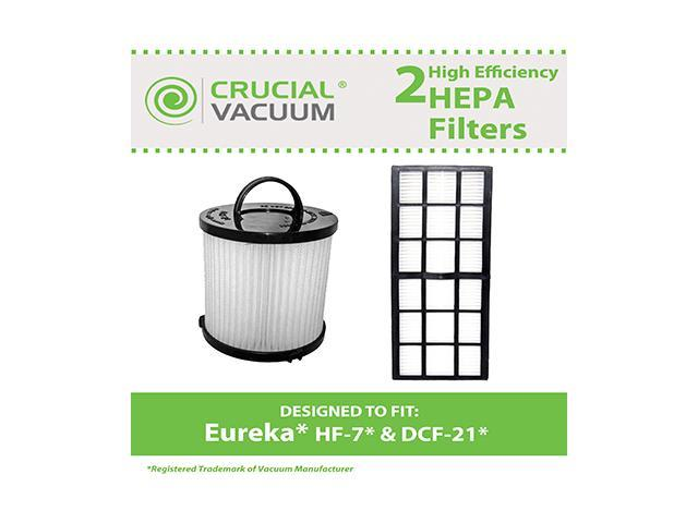 Eureka DCF21 & HF7 Washable Filter Kit, Part # 67821, 68931 & 61850 -  Newegg com