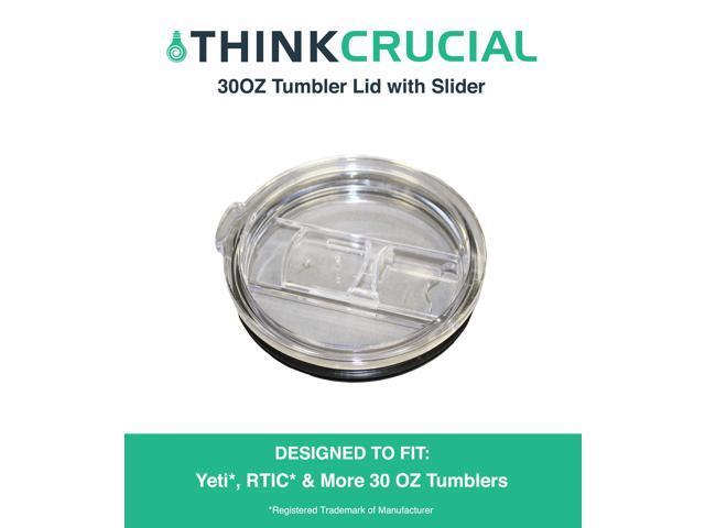 30 OZ Tumbler Lid with Slider Fits Yeti, Rtic & Other 30OZ Tumblers -  Newegg com