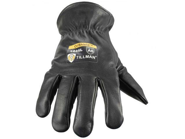 Tillman 1444 Top Grain Goatskin Drivers Glove with OilShield Protection Large