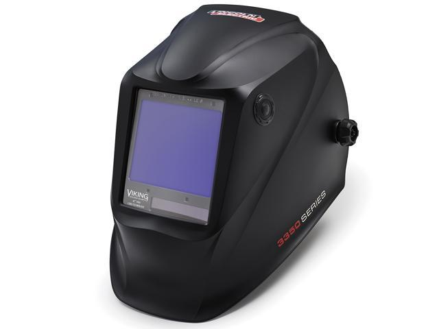 Lincoln Electric K3034 4 Viking 3350 Auto Darkening Welding Helmet With 4c Lens Technology Black Newegg Com
