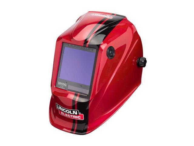 Lincoln Electric K4034 4 Viking 3350 Auto Darkening Welding Helmet With 4c Lens Technology Code Red Newegg Com