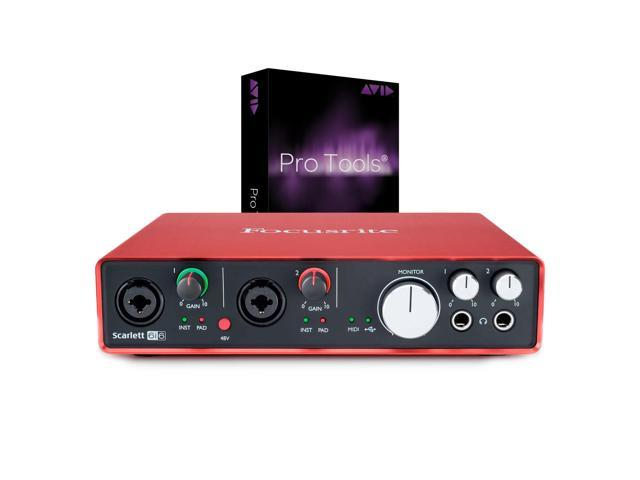 Focusrite Scarlett 6i6 USB 2 0 Audio Interface(6 In/6 Out) With Two Mic  Preamps - Newegg com