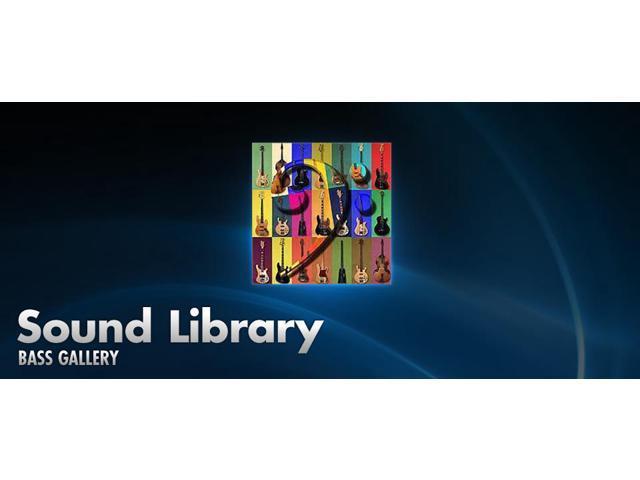 Kurzweil DCDBG Bass Gallery Sound Sample Library