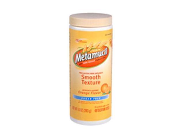 Metamucil 4 In 1 Multihealth Fiber Powder Orange Smooth Sugar Free 23 3 Oz Newegg Com