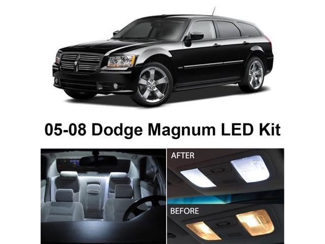 Dodge Magnum 2005-2008 Xenon White Premium LED Interior Lights Package Kit  (7 Pieces) - Newegg com