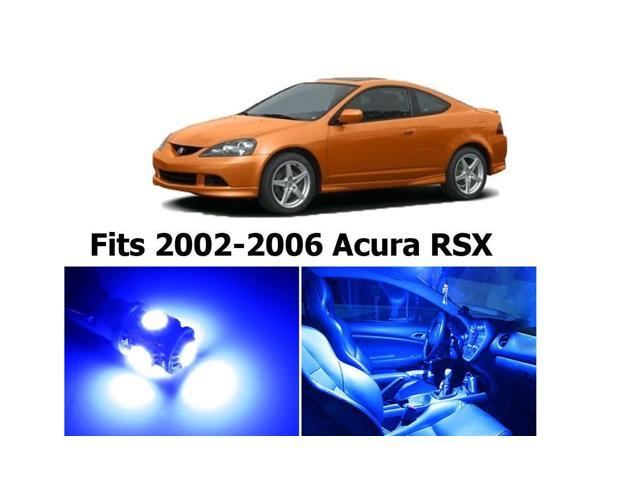 Zone Tech Acura RSX 2002-2006 Blue Interior LED Package (6 Pieces) -  Newegg com