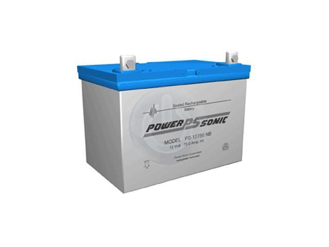 Lead Acid Battery >> Power Sonic Ps 12750 12v 75ah Sealed Lead Acid Battery With U Terminal Newegg Com