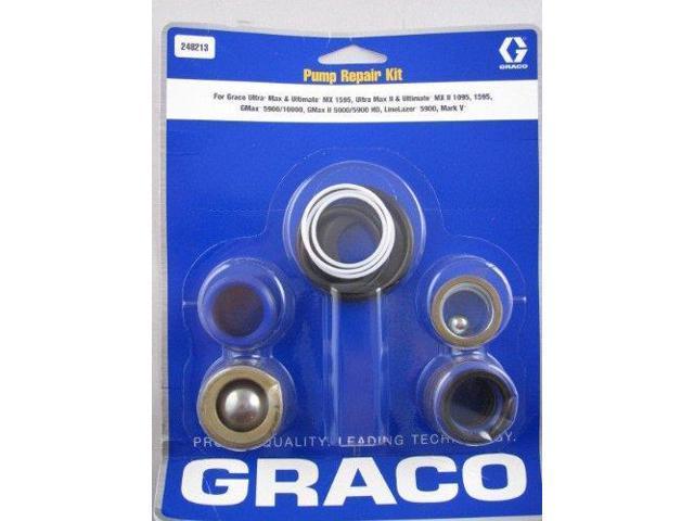 Graco ASM 248213 Zip-Spray 2700 & 3100 Airless Paint Sprayer Pump Repair  Kit - Newegg com