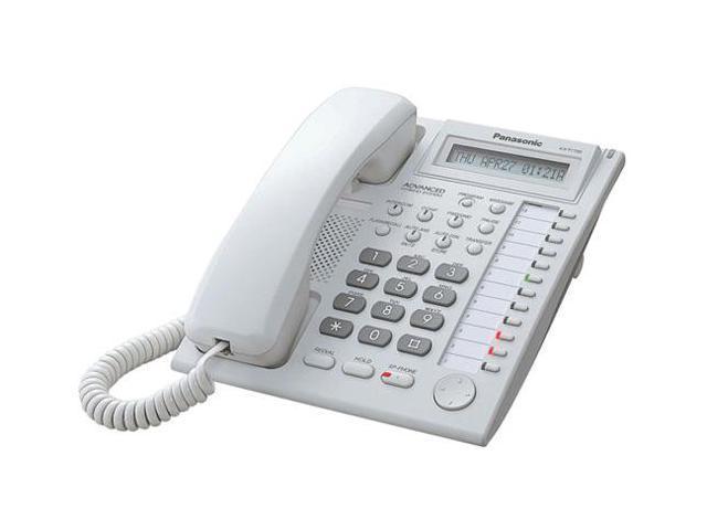 panasonic kx t7730wx hybrid system corded telephone w 1 linebacklit rh newegg com Panasonic 4 Line Phone System Panasonic 8Ext Digital Super Hybrid