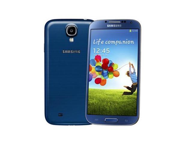Samsung Galaxy S4 GT-i9500 Blue (International Model) Unlocked GSM Mobile Phone