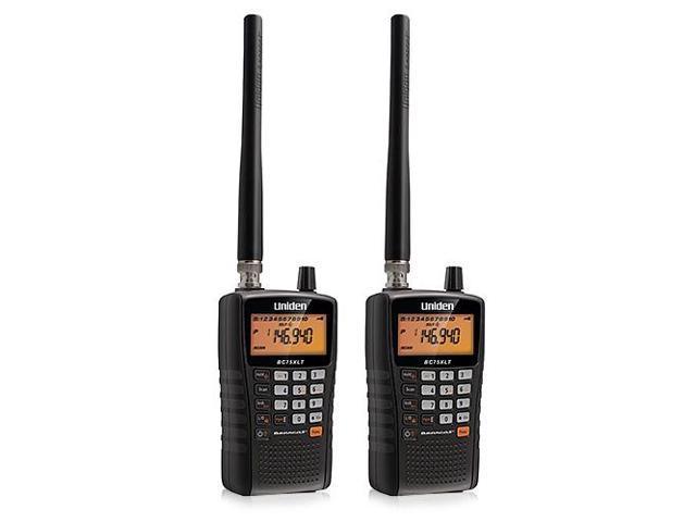 Uniden BC75XLT Handheld Scanner (2-Pack) with Public Safety Scanner -  Newegg com