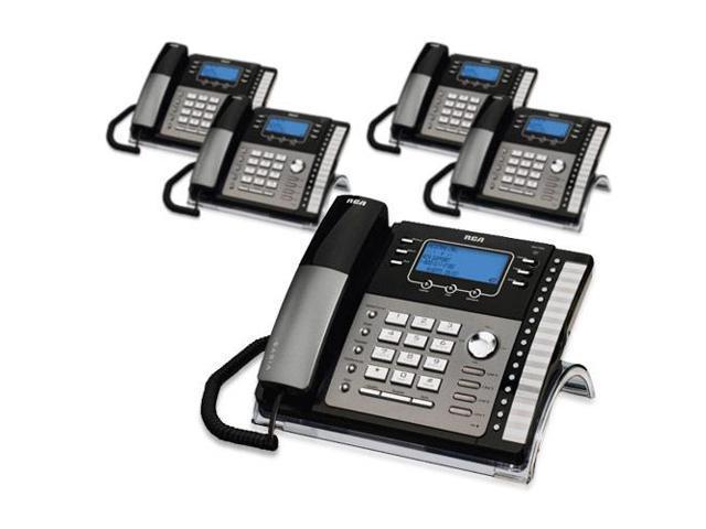 rca visys 25425re1 5 pack 4 line exp speakerphone w digital rh newegg com Telephone RCA 25425RE1 Telephone RCA 25425RE1