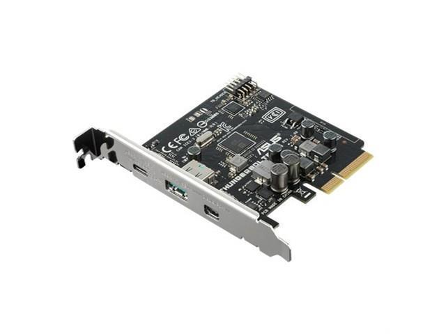 ASUS ThunderboltEX 3 Thunderbolt 3 /& USB 3.1 PCI-e Card For Z170 X99 X299 Prime