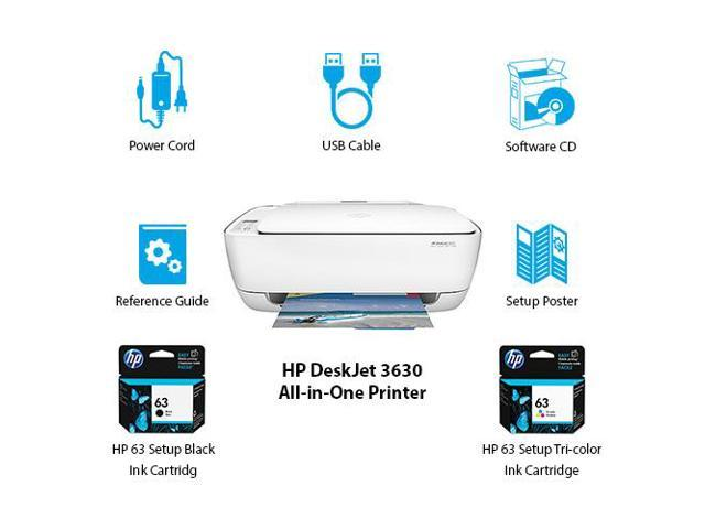 how to setup hp deskjet 3630 all in one series