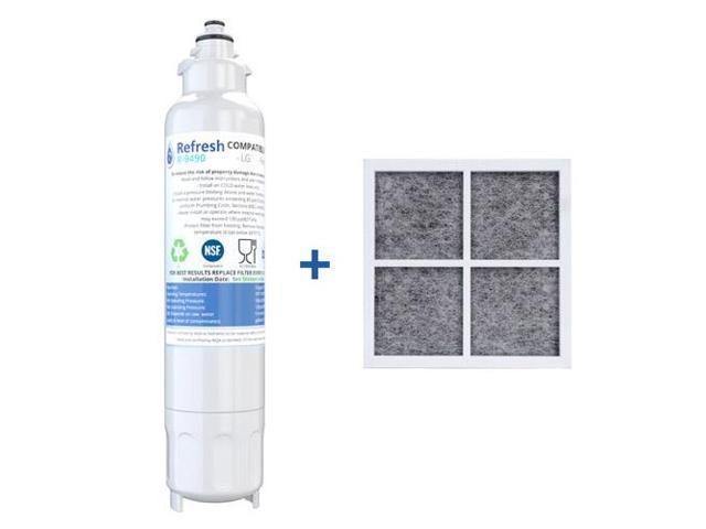 Refresh Kenmore LG Bundle (1xLT800P and 1xLT120F) Refrigerator Water Filter  - Newegg com