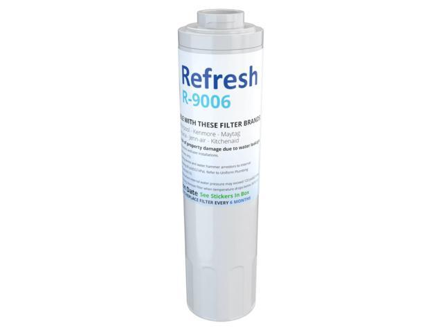 Replacement Refresh R-9006 Refrigerator Water Filter Compatible with Maytag  UKF8001 & Whirlpool WRX735SDBM - Newegg com