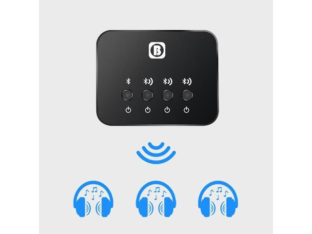 Dual Link Optical Transmitter Bluetooth V4 1 Multi Pair 1 To 3 Mini For Tv Wireless Music Audio Adapter For Headphones Speakers Newegg Com