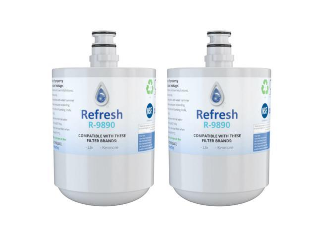 Replacement Water Filter Compatible with Kenmore 79439 Refrigerator Water  Filter - by Refresh (2 Pack) - Newegg com