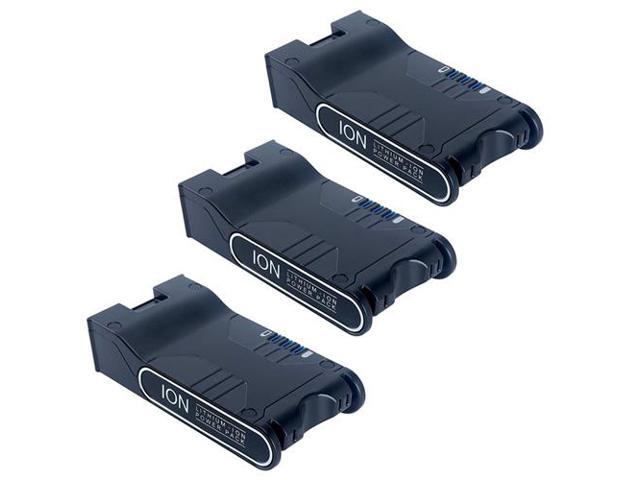 3 Replacement Shark ION Power Pack Battery XBAT200 For IF200//IF201//IF250//UF280