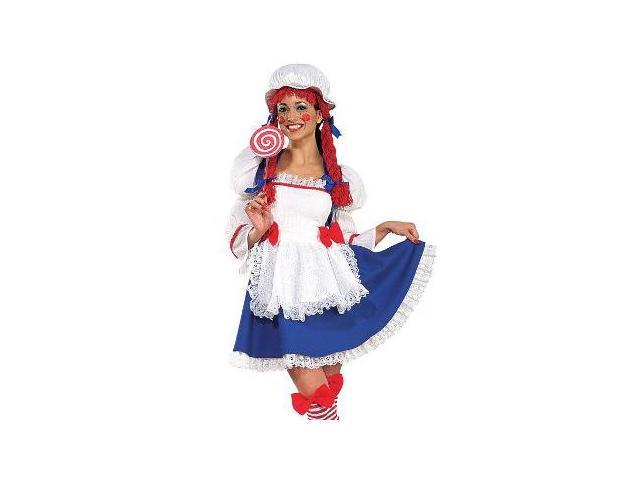 Womens Sexy Rag Doll Costume