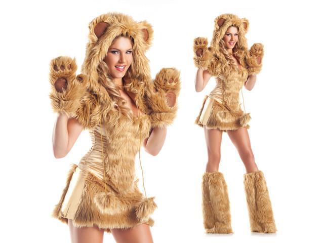 Sexy teddy bear halloween costume