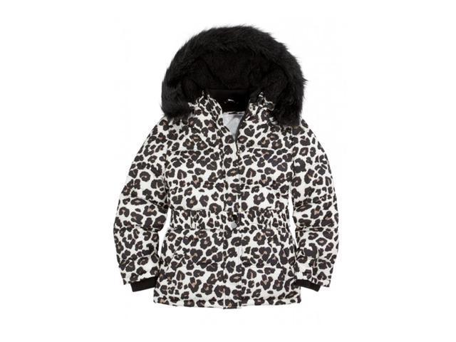 dcf68951b715 Justice Girls Animal Print Puffer Jacket 624 5 - Little Kids (4-7 ...