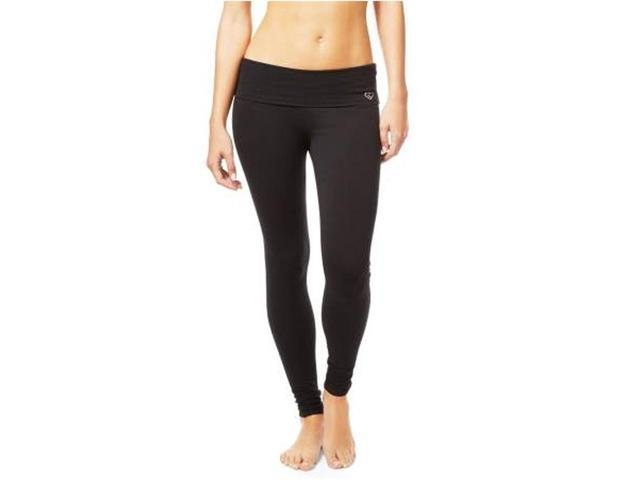 Aeropostale Womens Striped Sequined Yoga Pants