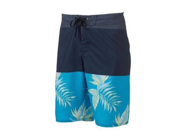 de666ca805 Hang Ten Mens Camo Stretch Swim Bottom Board Shorts blue 28 ...