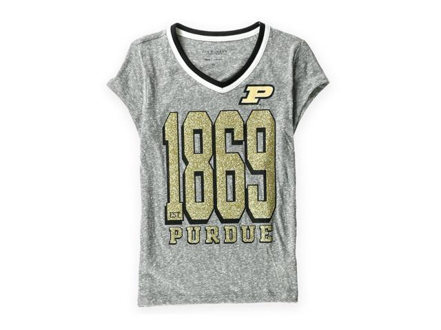 c800e09762d Justice Girls Purdue Boilermakers Graphic T-Shirt graygold 7 - Little Kids  (4-