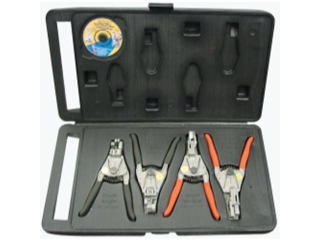 Wilde Tool 89 Screw Extractor Set 4-Piece Large Sizes 89//VP