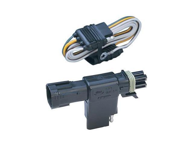 Awesome Hopkins 41115 Plug In Simple Vehicle To Trailer Wiring Connector Wiring 101 Swasaxxcnl