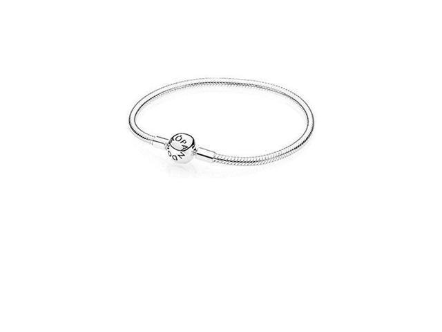 a8e78c2747b Pandora Smooth Silver Clasp Bracelet - 590728-16 - Newegg.com