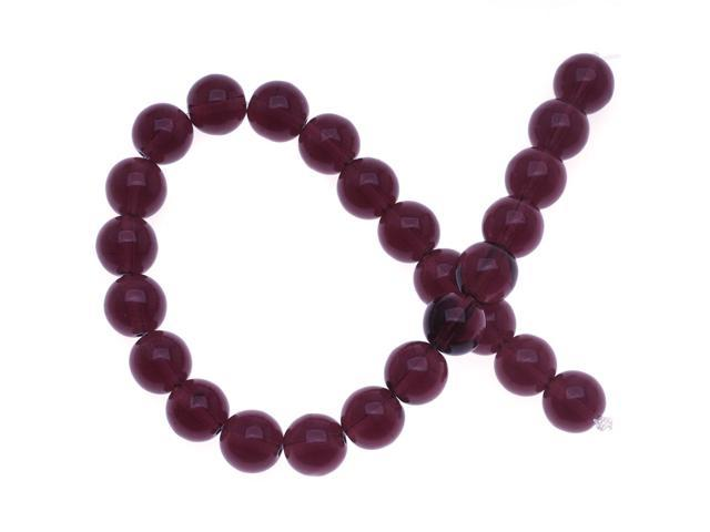 25pcs 6mm Iris Blue Iris Purple Round Czech Glass Druk Beads