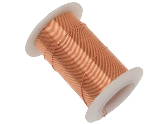Tarnish Resistant Bright Copper Wire 22 Gauge 20 Yards 18.2 Meters