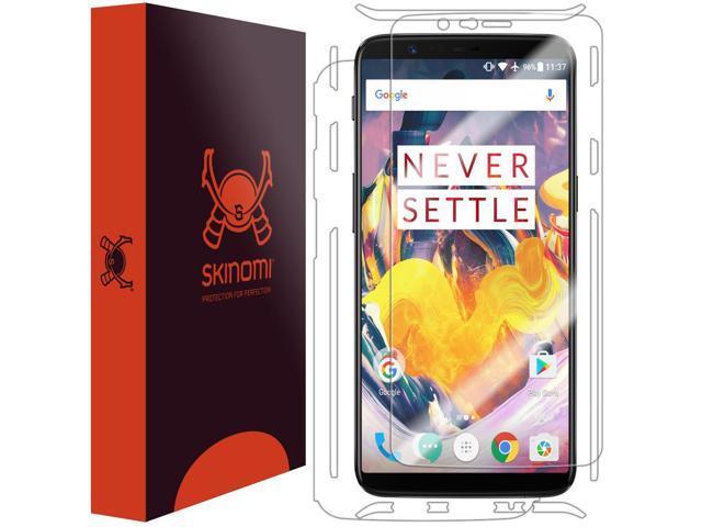 b5c3ce151d8b19 OnePlus 5T Screen Protector + Full Body , Skinomi TechSkin Full Coverage  Skin + Screen Protector