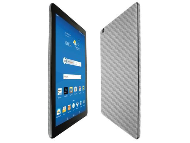 Skinomi Carbon Fiber Black Skin+Clear Screen Protector for Microsoft Band