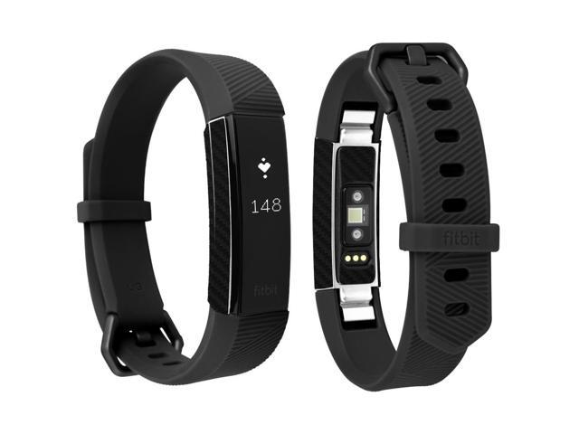 Skinomi Techskin Fitbit Alta Hr Screen Protector Carbon Fiber Full Body Skin Front Back Wrap Clear Film Ultra Hd And Anti Bubble Shield Newegg Com