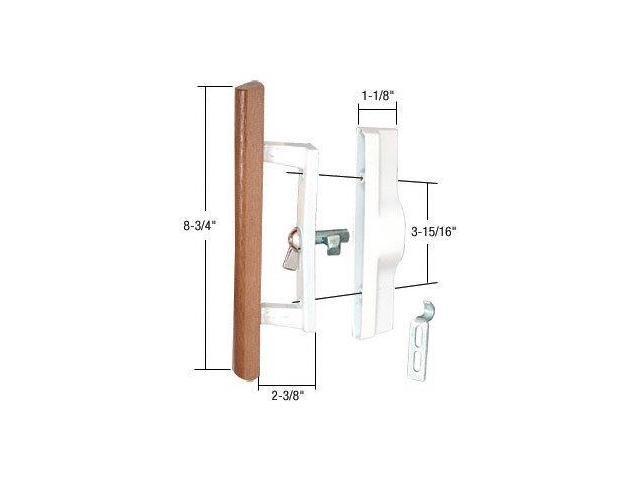 Sliding Glass Patio Door Handle Set With Internal Lock For Viking Doors 3 15