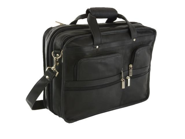 002ecc562ac5 Hammer Anvil Turbo Expandable Laptop Briefcase Colombian Leather Messenger  Bag