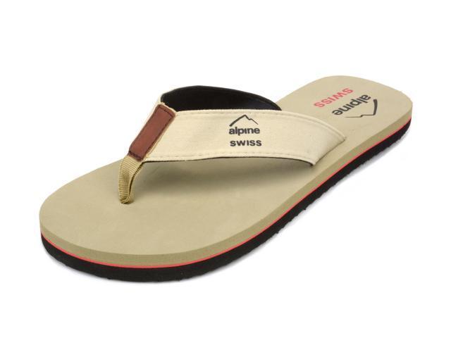 cbe2faae6ca3 Alpine Swiss Men's Flip Flops Beach Sandals Lightweight EVA Sole Comfort  Thongs - Newegg.com