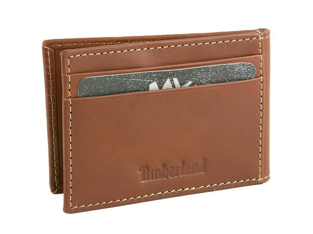 best service 54ab5 b48d8 Timberland Mens Flip Money Clip Leather Bifold Pocket Wallet ID Card Case  Holder - Newegg.com