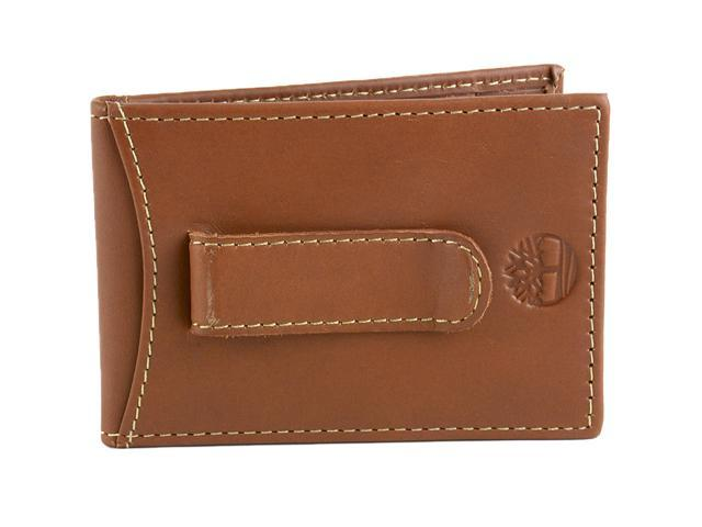 3251e57a3da6 Timberland Mens Flip Money Clip Leather Bifold Pocket Wallet ID Card Case  Holder