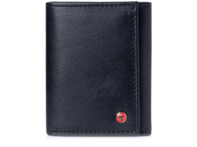 RFID Camo Blocking Men/'s Leather Camo Classic Trifold ID Card Holder Wallet NEW