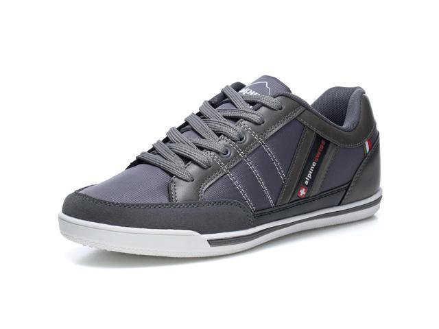 uk availability e62a4 b89bf Alpine Swiss Stefan Mens Retro Fashion Sneakers Tennis Shoes Casual  Athletic New
