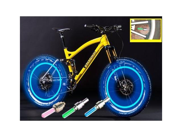 Green Cap Tech Tire Blue Valve Led Pack For Red Tyre Light Abco Car Motorbicycle 3 Flash Bicycle Colorful Bike Wheel SUzpGqVLM