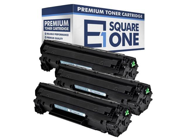 eSquareOne Toner Cartridge Replacement for HP 83A CF283A Black, 2-Pack